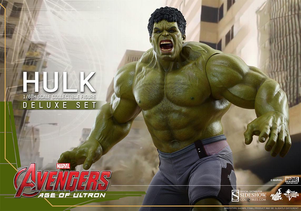 Hulk Deluxe Sixth Scale Figure Collectible Set – GeekAlerts