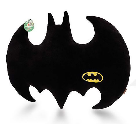 Batman Bat Logo Pillow