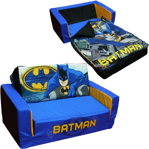toddler flip out sofa couch cheap taupe sofas batman