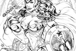Coloring Pages Wonder Woman