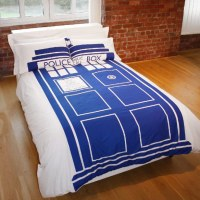 Doctor Who Tardis Double Duvet Set