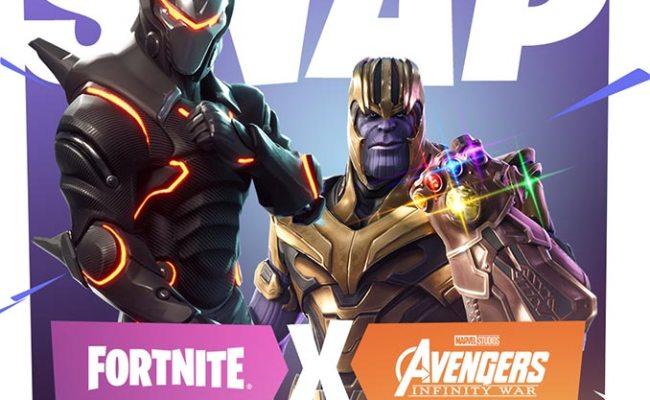 Fortnite Infinity Gauntlet Limited Time Mashup