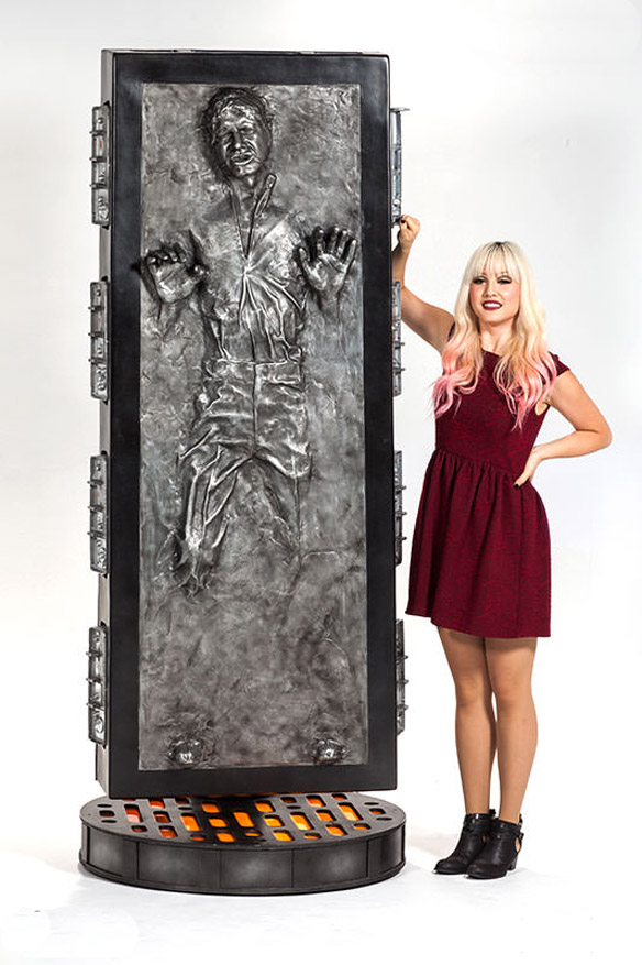 Han Solo In Carbonite Life Size Figure