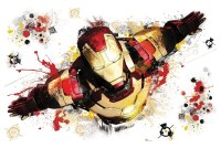 Iron Man 3 Giant Peel and Stick Wall Decal