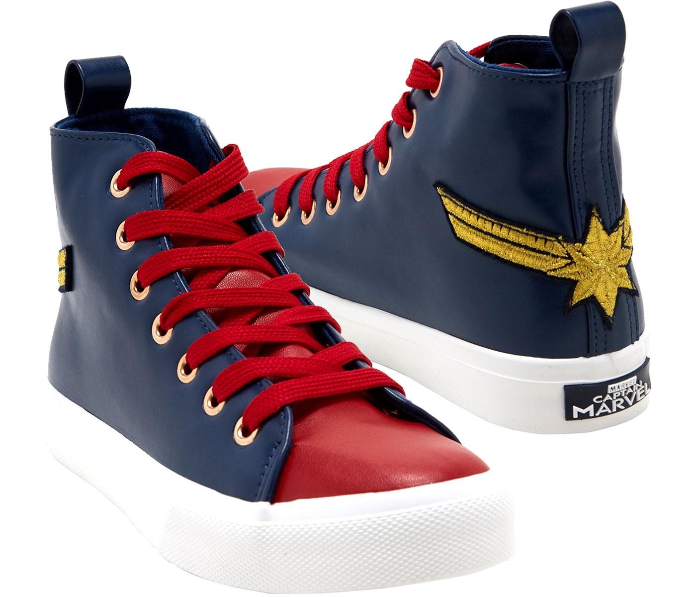 Marvel Captain Marvel HiTop Sneakers