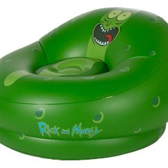 Inflatable Chairs For Adults Been Bag Rick And Morty Pickle Chair