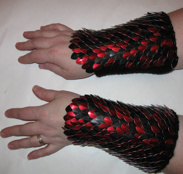 scalemail dragonhide armor bracers