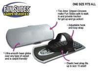 Simtec Fun Slides Carpet Skates