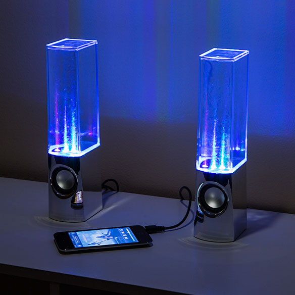 Dancing Water Computer Speakers