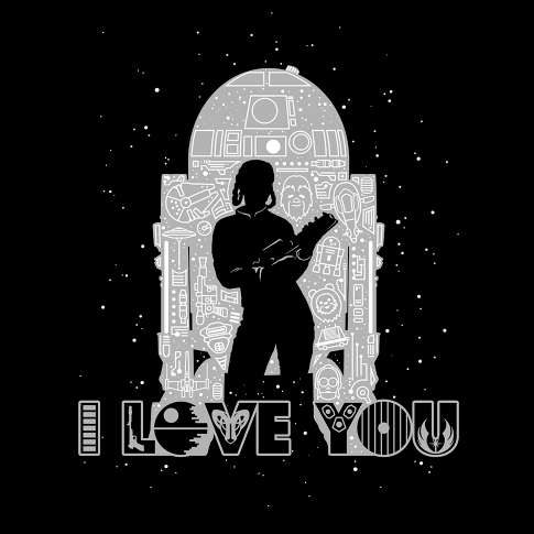 Download Star Wars I Love You and I Know T-Shirts