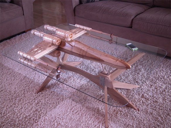 Star Wars XWing Coffee Table