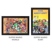 Super Nintendo Framed Wall Art