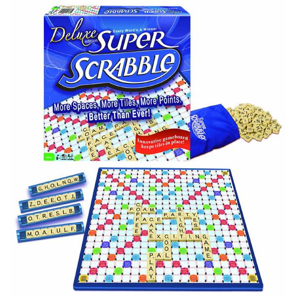 Deluxe Edition Super Scrabble