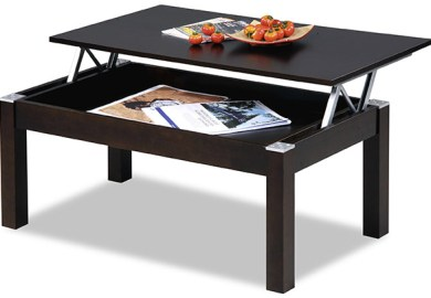 Black Lift Top Coffee Table