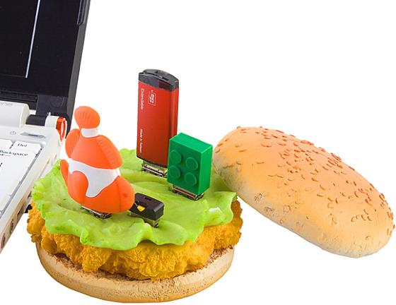 Chicken  Burger USB Hub