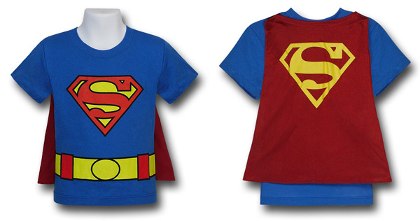 women superhero shirt with cape