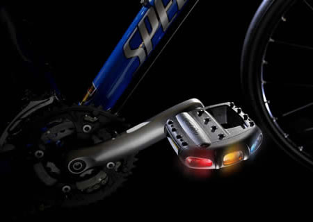 Pedalite LED Light Pedals For Bicycles