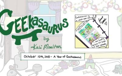 A Year of Geekasaurus