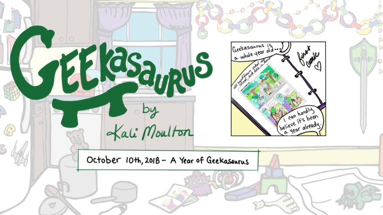 A Year of Geekasaurus