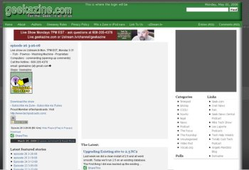 Redesign of Site