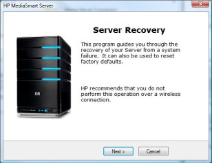 Server Recovery