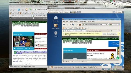 CentOS running in Virtual Box