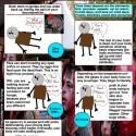 Zombie Lifespan Infographic