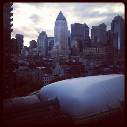 New York from my Yotel Room