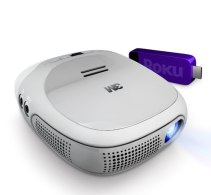 3M Projector with Roku