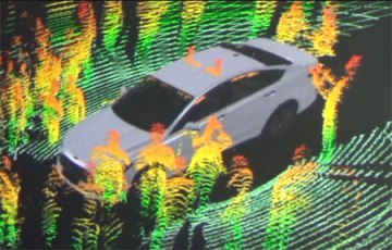 Ford Fusion 3D Map with LiDAR