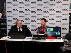 Gadget Professor Don Baine interviewing Livestream