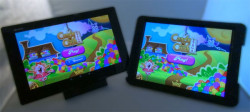 Sony Z2 Tablet and iPad Air Side by Side