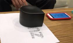 Zuta Mini Robotic Printer in Action