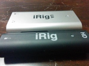 iRig UA vs. iRig HD