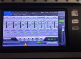 Recording Mode on QSC TouchMix 16