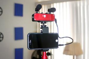 Saramonic Smartmixer with Smartphone mount
