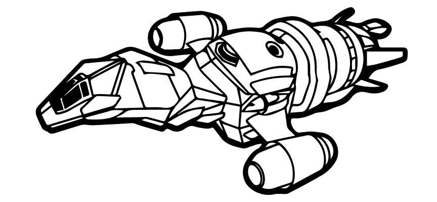 Firefly Ship Coloring Pages Coloring Pages