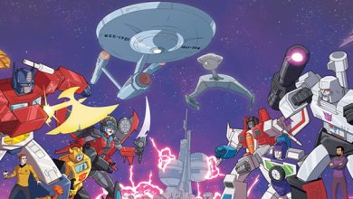 Photo of Worlds Collide in Star Trek vs. Transformers Comic Book Crossover