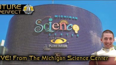 Photo of Live from the Stage of the Michigan Science Center, it's Star Trek #AfterDark