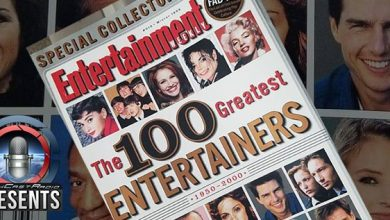 Photo of GCR – 199 – The Top 100 Greatest Entertainers 1950-2000