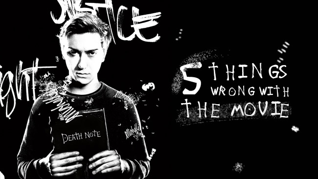 5 things wrong with the netflix death note movie