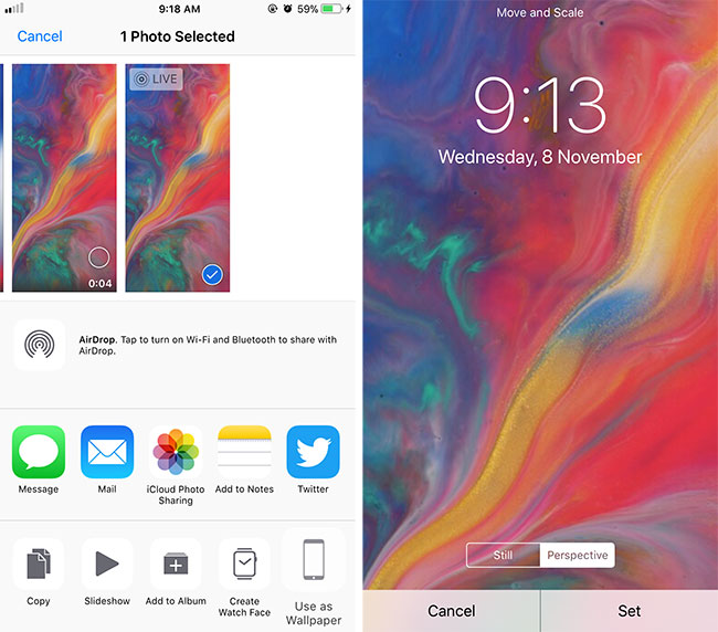 How To Get Iphone X Live Wallpapers On Older Iphones