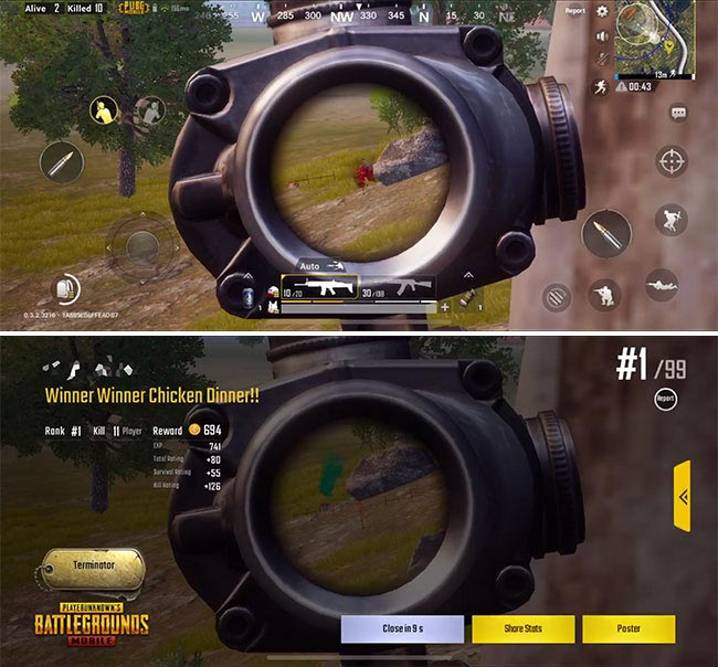 How To Lean / Peek From Behind Cover In PUBG Mobile