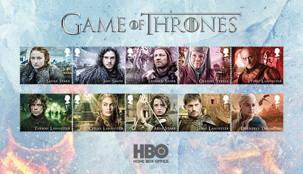 Game of Thrones (Royal Mail)