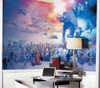 Geek Out Over The Star Wars Saga Wall Mural | Geek Decor