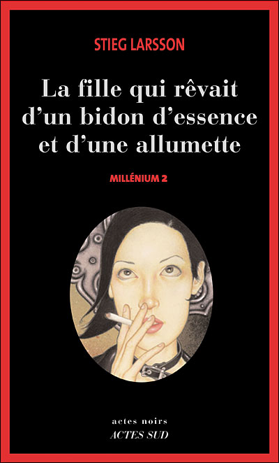 French translation of Stieg Larssons 2nd Millenium book