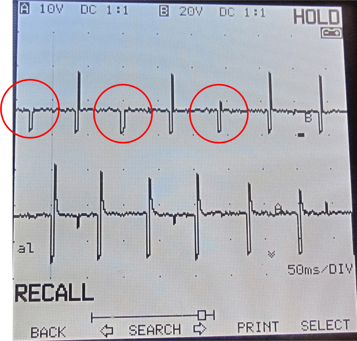 hight resolution of i hooked up my two channel scope meter to ground and back probed pins 1 and 3 of the ignition coil in koer mode i noticed that the pcm was definitely