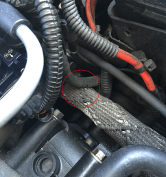 so i knew i had to find a short in the ignition coil wire loom i went through the shop manual to identify where all the connectors and wiring looms were  [ 1512 x 1134 Pixel ]