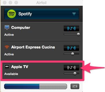 AirFoil: come usare Apple TV come altoparlante per filodiffusione