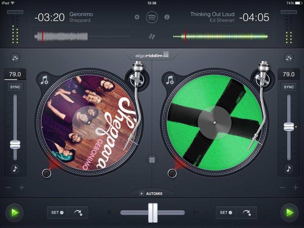 Djay 2 per iPad